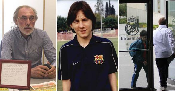 Giai thoại về mảnh giấy đưa Messi đến Barca - Ảnh 3.