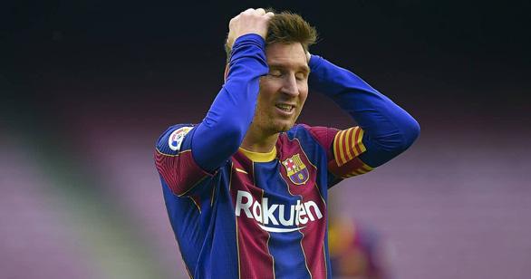Messi sốc nặng và chán nản vì bị Barca từ chối ký hợp đồng - Ảnh 1.