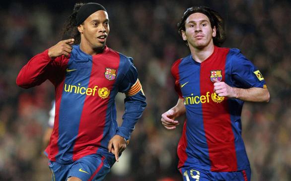 Giai thoại về mảnh giấy đưa Messi đến Barca - Ảnh 4.