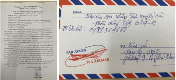 Đảng viên nghỉ hưu viết thư xin gia nhập đội tình nguyện chống dịch - Ảnh 1.