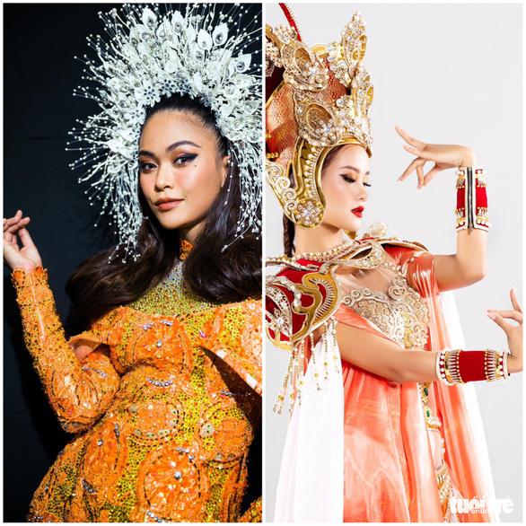 Thành Lộc, Mâu Thủy, Hương Ly hóa thân vua, hoàng hậu trong dự án Việt phục của Lê Long Dũng - Ảnh 3.