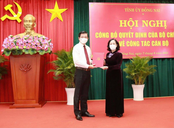 Ông Nguyễn Hồng Lĩnh làm bí thư Tỉnh ủy Đồng Nai - Ảnh 1.