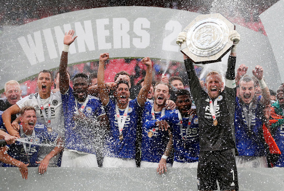 Đá bại Man City, Leicester đoạt Siêu cúp Anh 2021 - Ảnh 1.