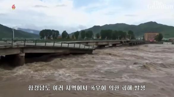 5.000 người tại Triều Tiên phải sơ tán vì lũ lụt - Ảnh 1.