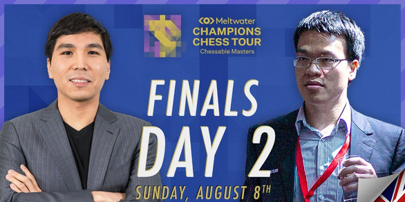 Lê Quang Liêm đoạt á quân Chessable Masters - Ảnh 1.