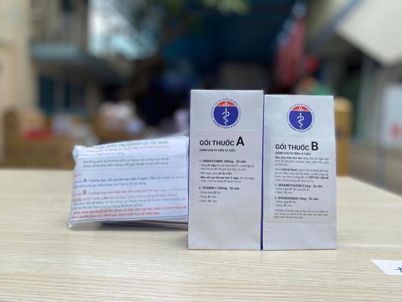 Bệnh viện Nhi đồng 1 sẵn sàng bàn giao 100.000 túi thuốc điều trị F0 tại nhà - Ảnh 2.