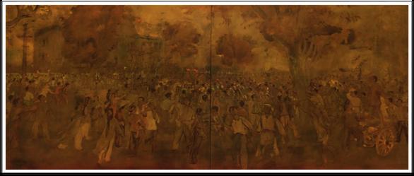 Con đường độc lập qua tranh các họa sĩ danh tiếng - Ảnh 5.