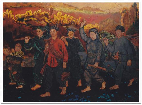 Con đường độc lập qua tranh các họa sĩ danh tiếng - Ảnh 6.