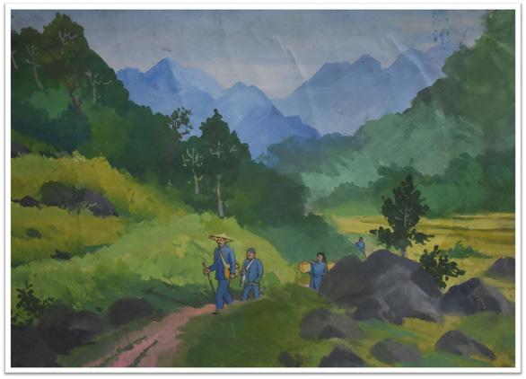 Con đường độc lập qua tranh các họa sĩ danh tiếng - Ảnh 8.