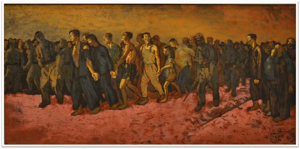 Con đường độc lập qua tranh các họa sĩ danh tiếng - Ảnh 9.