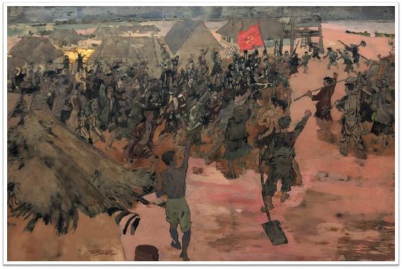 Con đường độc lập qua tranh các họa sĩ danh tiếng - Ảnh 2.