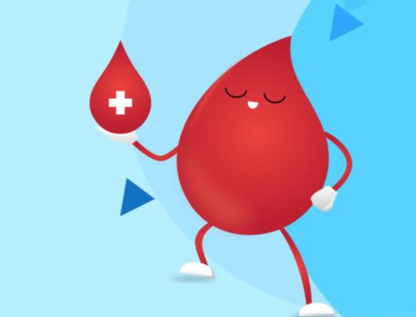 Ứng dụng 'Giọt máu vàng' cho người hiến máu dễ dàng trong thời gian giãn cách - Ảnh 1.