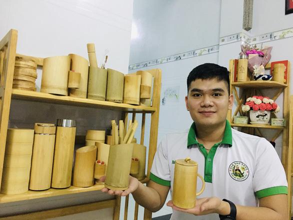 Chàng sinh viên luật nâng tầm cho tre Việt - Ảnh 1.