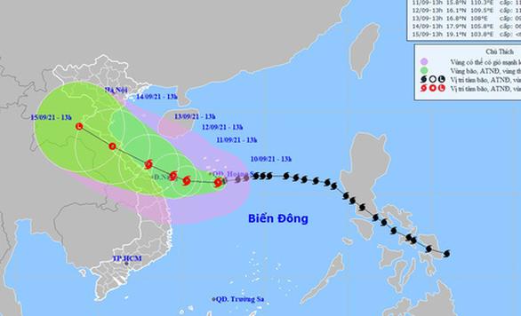 6 tỉnh có 4.000 F0 lên kịch bản sơ tán dân khi bão số 5 đổ bộ - Ảnh 2.
