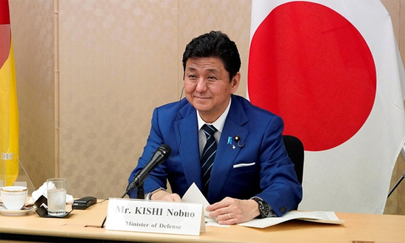 Bộ trưởng Quốc phòng Nhật Kishi Nobuo thăm Việt Nam - Ảnh 1.