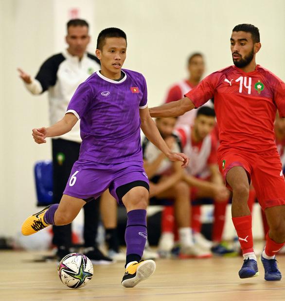 Đội tuyển futsal Việt Nam nỗ lực đạt kết quả tốt dành tặng người hâm mộ - Ảnh 1.