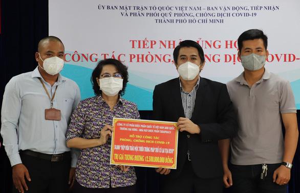 TP.HCM tiếp nhận 50.000 hộp thuốc Đông y điều trị F0 - Ảnh 1.