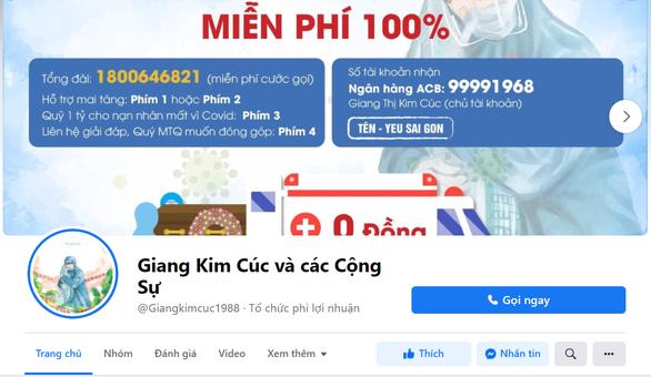 Xử phạt chủ trang fanpage Giang Kim Cúc và các Cộng Sự đăng tin sai sự thật - Ảnh 1.