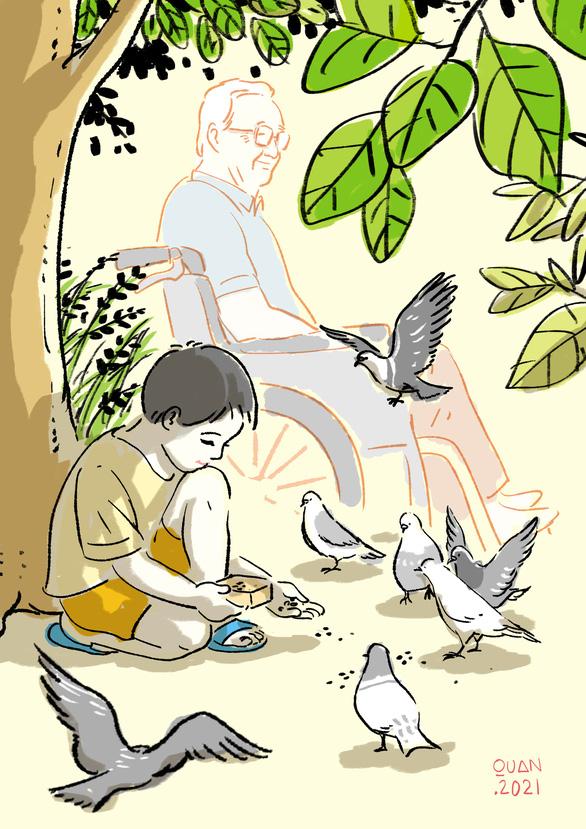 Truyện ngắn: Bầy chim câu trong hẻm nhỏ - Ảnh 1.