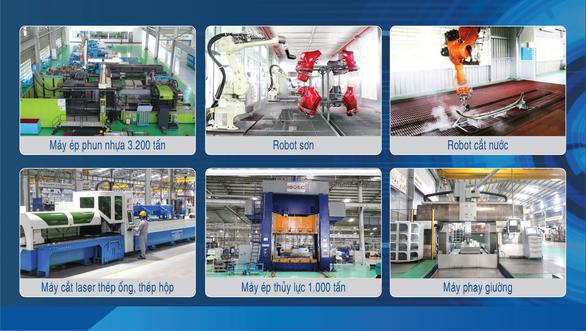 THACO AUTO đẩy mạnh sản xuất và cung ứng linh kiện phụ tùng, cơ khí giữa đại dịch - Ảnh 3.