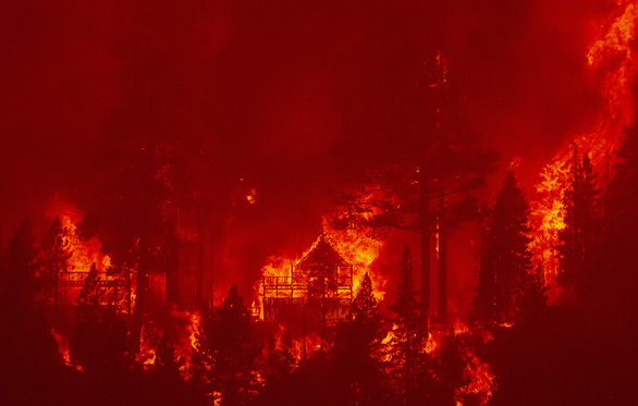California kích hoạt luật thời chiến để ứng phó cháy rừng - Ảnh 1.