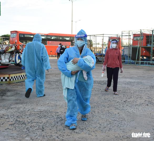 Phú Yên sẽ đưa tiếp 6.500 người từ TP.HCM và phía Nam về quê - Ảnh 1.