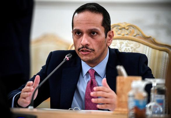 Ngoại trưởng Qatar hội đàm với thủ tướng Afghanistan - Ảnh 1.