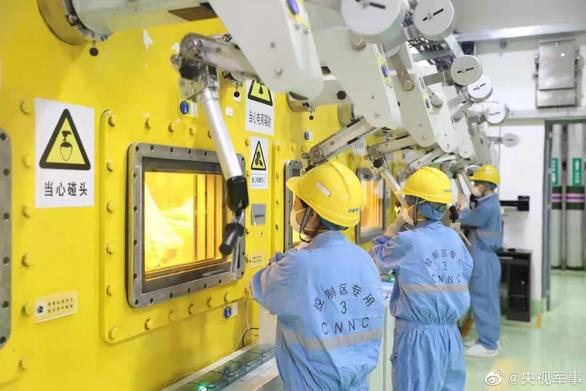 Trung Quốc mở nhà máy biến chất thải hạt nhân thành thủy tinh - Ảnh 1.
