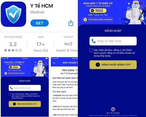 TP.HCM triển khai thí điểm ứng dụng thống nhất Y tế HCM - Ảnh 2.