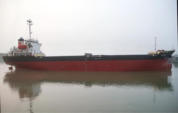 Tàu chở 10.000 tấn clinker bị tàu hàng Liberia đâm chìm ở Vũng Tàu - Ảnh 1.