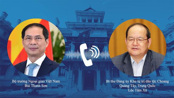 Việt Nam cảm ơn tỉnh Quảng Tây của Trung Quốc viện trợ 800.000 liều vắc xin - Ảnh 1.