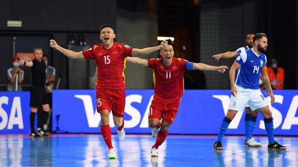 Việt Nam thua Brazil 1-9 ở trận ra quân Futsal World Cup 2021 - Ảnh 2.