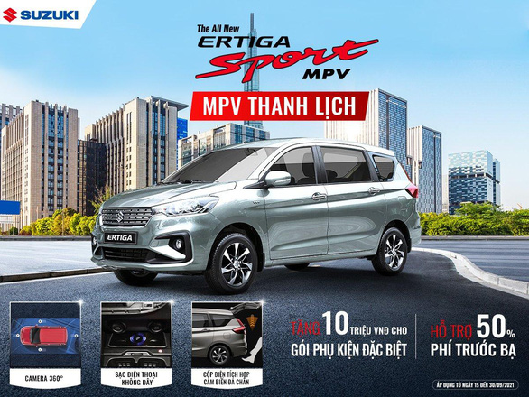 Suzuki tung ưu đãi tháng 9 cùng gói phụ kiện cho XL7, Ertiga Sport - Ảnh 2.