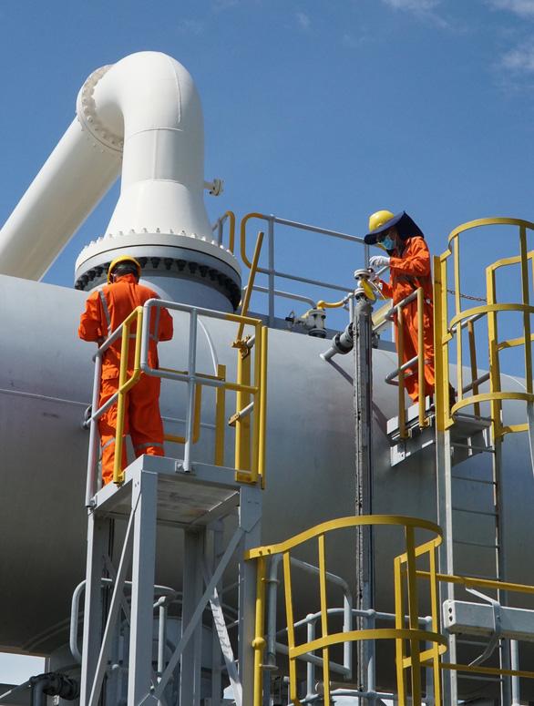 NCSP hoàn thành vượt tiến độ công tác bảo dưỡng lớn hệ thống khí Nam Côn Sơn 1 - Ảnh 2.