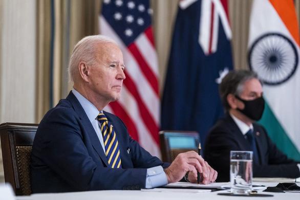 Bộ tứ kim cương họp thượng đỉnh trực tiếp tại Nhà Trắng tuần tới - Ảnh 1.