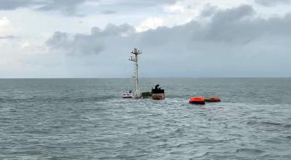 Tàu chở 10.000 tấn clinker bị tàu hàng Liberia đâm chìm ở Vũng Tàu - Ảnh 2.
