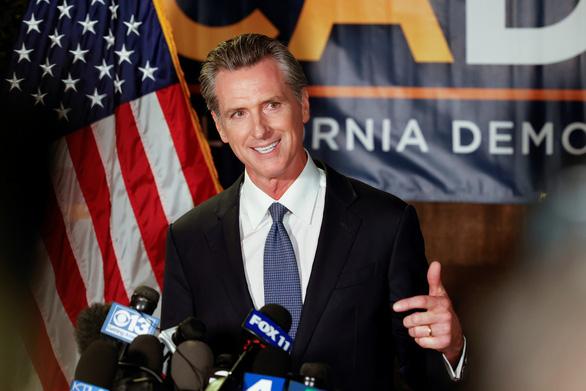 Thống đốc California nắm chắc khả năng không bị thay thế - Ảnh 1.