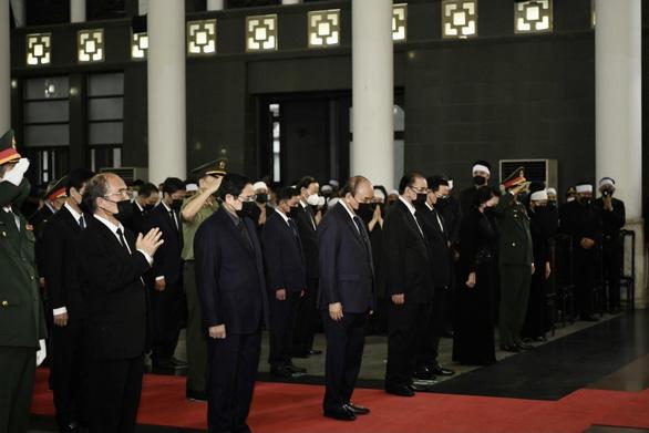 Tổ chức trọng thể lễ tang Đại tướng Phùng Quang Thanh, nguyên Bộ trưởng Bộ Quốc phòng - Ảnh 1.