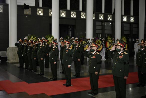 Tổ chức trọng thể lễ tang Đại tướng Phùng Quang Thanh, nguyên Bộ trưởng Bộ Quốc phòng - Ảnh 4.