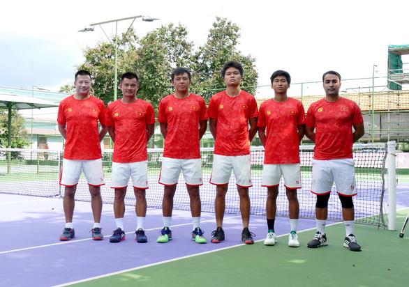 Tuyển Việt Nam đánh bại Pacific Oceania ở Davis Cup - Ảnh 1.