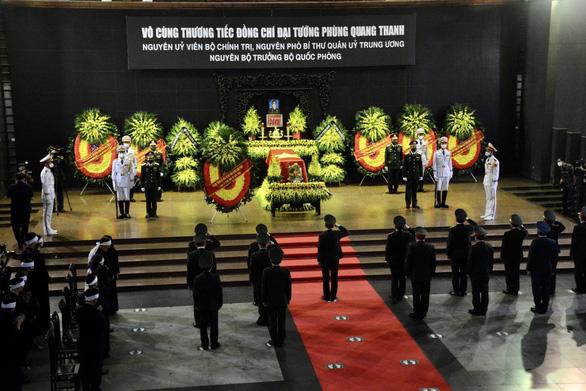 Tổ chức trọng thể lễ tang Đại tướng Phùng Quang Thanh, nguyên Bộ trưởng Bộ Quốc phòng - Ảnh 2.