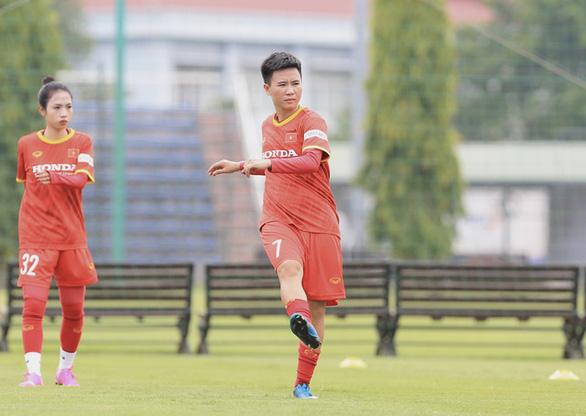 Đội tuyển nữ Việt Nam chốt danh sách 23 cầu thủ tham dự vòng loại Giải vô địch châu Á 2022 - Ảnh 1.
