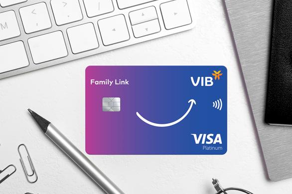 Lần đầu tiên, VIB - Visa ra mắt thẻ tín dụng đồng hành cùng con - Ảnh 1.