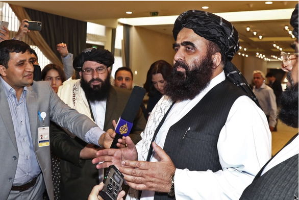 Taliban kêu gọi quốc tế viện trợ nhân đạo - Ảnh 1.