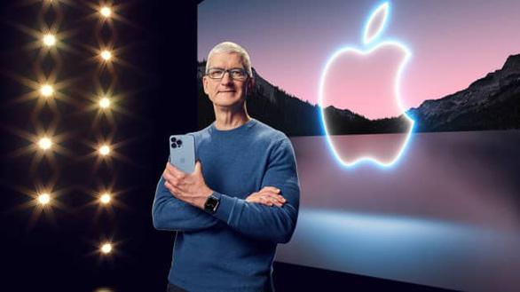 Apple ra mắt iPhone 13: Màu hồng, mạnh mẽ - Ảnh 1.