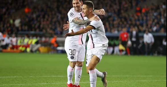 Messi, Neymar và Mbappe cùng 'tịt ngòi', PSG bị Club Brugge cầm chân - Ảnh 1.