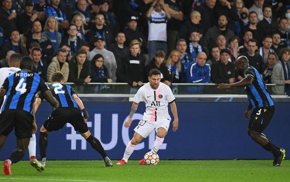 Messi, Neymar và Mbappe cùng 'tịt ngòi', PSG bị Club Brugge cầm chân - Ảnh 4.