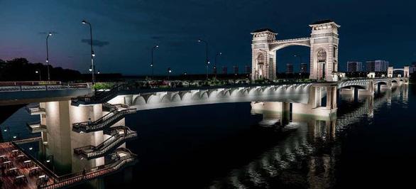 Cầu Trần Hưng Đạo ngàn tỉ mang phong cách cổ điển 'xứ Đông Dương' đã đúng chưa? - Ảnh 2.