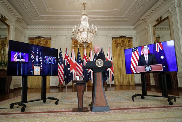 Mỹ, Anh, Úc bắt tay đóng tàu ngầm hạt nhân, Trung Quốc phản ứng - Ảnh 2.