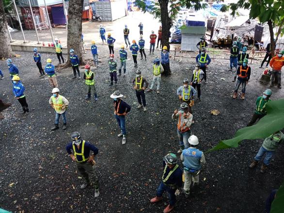 Bắt đầu khôi phục thi công dự án metro số 1 (Bến Thành - Suối Tiên) - Ảnh 1.